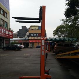 肇庆厂家直销手动液压堆高车装卸升高车