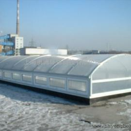 供应YBC3圆拱型电动采光排烟天窗