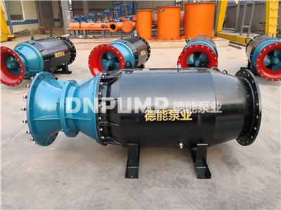江河湖泊排水泵_QZB雪橇式潜水轴流泵