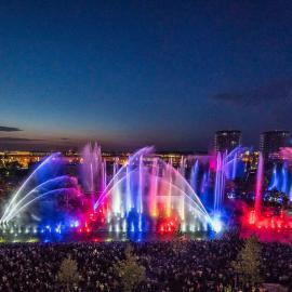 喷泉水景 喷泉设计 水景设计 河南喷泉公司 喷泉设计施工