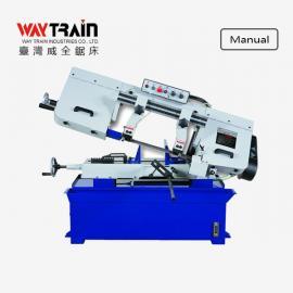 台湾威全UE-250A手动卧式金属锯床 小型金属带锯床厂家
