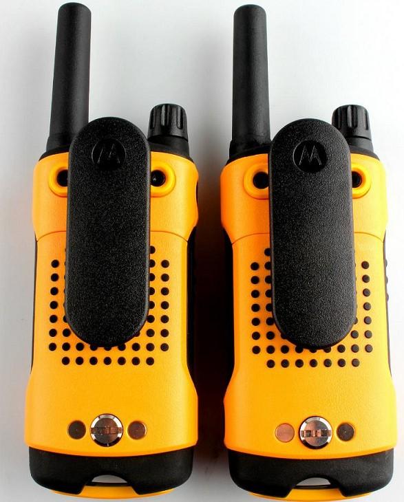 摩托罗拉T80EX对讲机一对装 豪华配置 民用手台户外自驾游