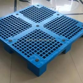 67号单面方脚卡板_8.5KG网格单面方脚卡板_1米2*1米网格塑料托盘