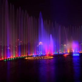 宁波智能水景音乐喷泉-宁波乐园水景喷泉工程
