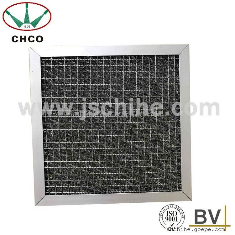 厂家直销GH不锈钢丝网过滤器油烟过滤器耐高温过滤反复清洗初效