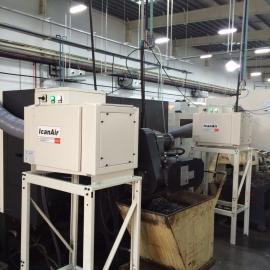 机加工高效率油烟油雾净化机是怎么进行处理的呢?