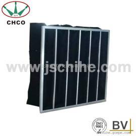 中效袋式活性炭过滤器大面积吸附拦尘过滤器