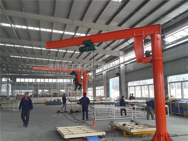 2吨悬臂吊参数 非标臂长高度悬臂吊车 葫芦装卸吊机 浙江厂家