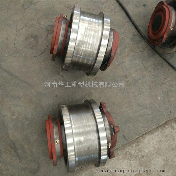 欧式卷扬小车轮 65Mn锻件大轮 原厂哈尔滨轴承 160*120轻轨车轮