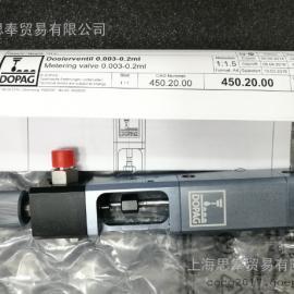 上海思奉优势供应多派克DOPAG瑞士进口减压阀计量表450.00.00