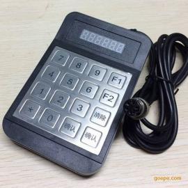 HX516D防水5芯航空头金属密码小键盘