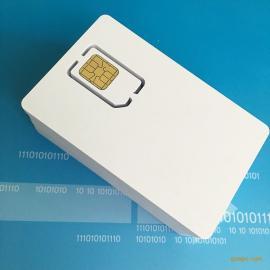 厂家制作4G手机空白卡CDMA测试卡UIM测试卡