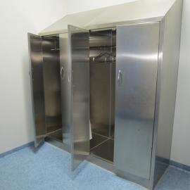 生物制药厂不锈钢衣柜定做