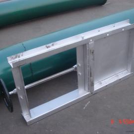 湖南水泥厂手动闸板阀插板阀耐温400度春晖设计