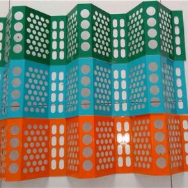 金属防尘网|金属钢板防尘网|煤场挡风网墙|防尘网2018环保工程