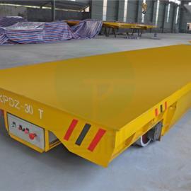 新利德机械转运输仓储集装箱设备的低压轨道电动平板车