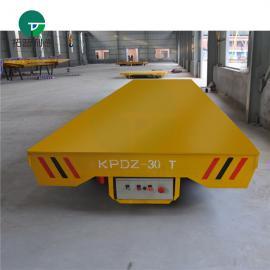 新利德机械转运输造纸厂纸卷工件的低压轨道平板车V型车