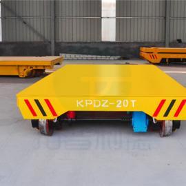 特制搬运钢包平板车+三相可转弯电动转运平板车+轨道过跨小车