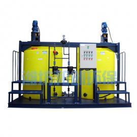 养殖废水处理设备用加药装置 加药装置一体化全自动设备