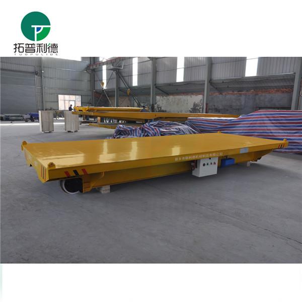 转运冶炼厂钢水包钢渣用新利德KPX蓄电池轨道电动平车