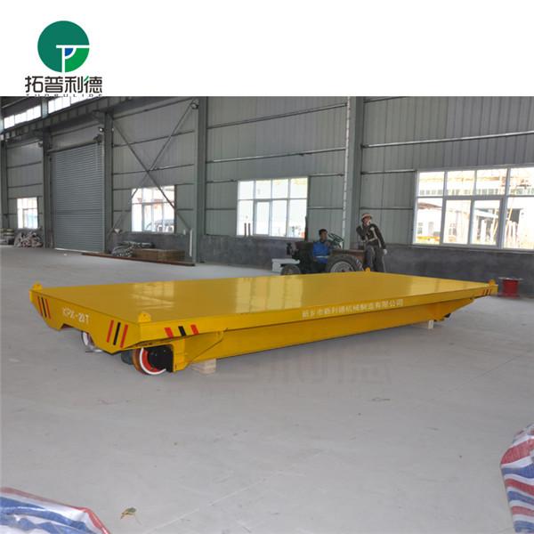 供应新利德生产用于转运混凝土等供料的搬运设备轨道电动平车