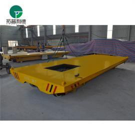 新利德机械转运输混凝土建筑材料的轨道电动平板车