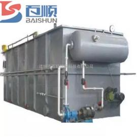 平流式溶气气浮机污水处理设备 来货定制 厂家直销 百顺环保