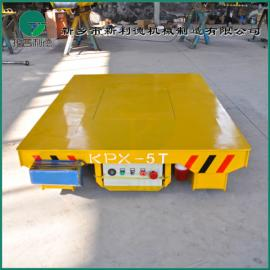 浙江杭州 厂家定制机加工装配车间 5T手推电动平板车