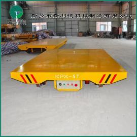 退火炉专用 牵引式电动平板车 高温炉用分体车 定制生产