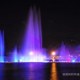 喷泉水景 喷泉施工图 水景观设计 音乐喷泉工程-广场喷泉图片图片