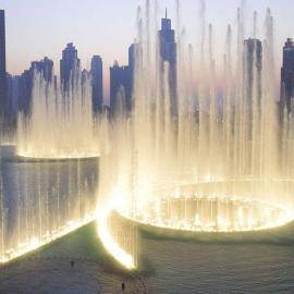 西安音乐喷泉设计施工公司西安音乐喷泉安装公司