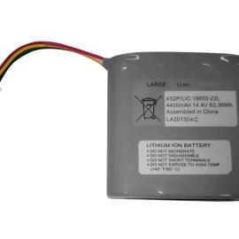 14.8V 4400mAh医疗打气泵智能锂电池