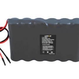 7.4V 6600mAh 18650水文分站监控仪锂电池组