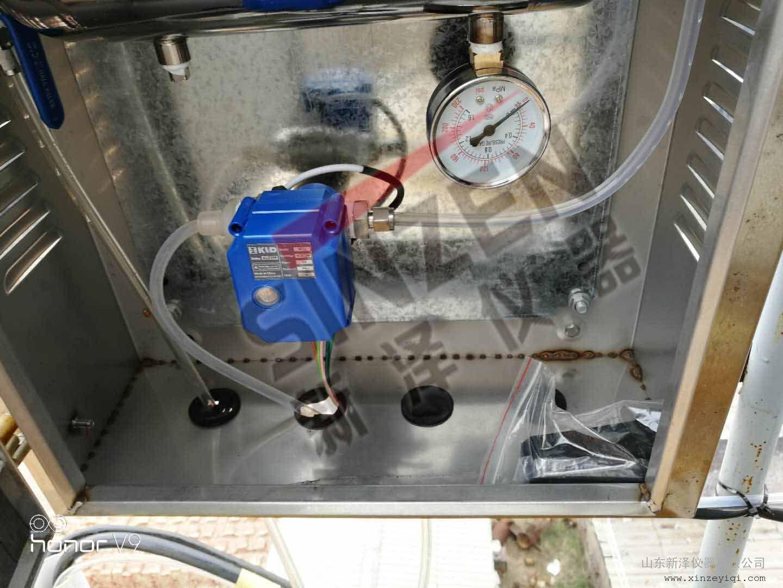 砖厂cems烟气排放连续在线监测系统, 测SO2,NOX,O2,粉尘,温压流