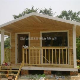 西安木塑集成房屋加工|陕西防腐木小木屋施工|西安塑木别墅木屋