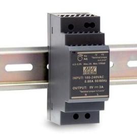 HDR-100-24 15W 免接地楼宇用明纬导轨安装电源替代DR-100-24