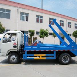 东风5立方摆臂式垃圾车/3吨摆臂垃圾车价格