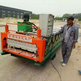 全自动840900双层彩钢瓦机@全自动840900双层彩钢瓦机厂家批发