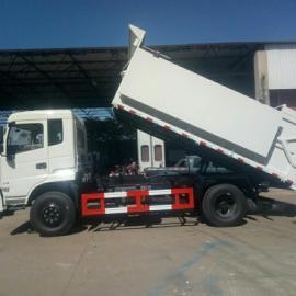 去污水处理厂拉污泥专用车10吨污泥运输车价格