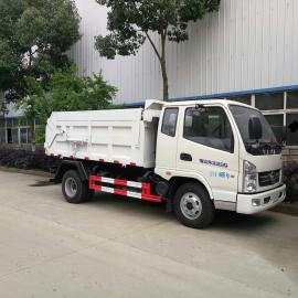 垃圾厂沉淀池污泥运输车-5吨垃圾厂污泥自卸车尺寸及报价