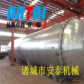 安泰10年高端品质出口俄罗斯大型蒸汽胶辊硫化罐 质量保证
