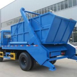东风10立方摆臂式垃圾车/8吨摆臂垃圾车价格