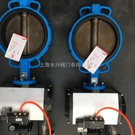 D671XP-16Q对夹式脱硫气动蝶阀