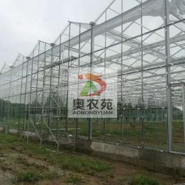 连栋玻璃温室的配套系统及结构特点