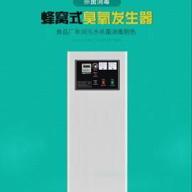 100g空气源臭氧发生器 外置空压机 冷干机和三级过滤24小时工作