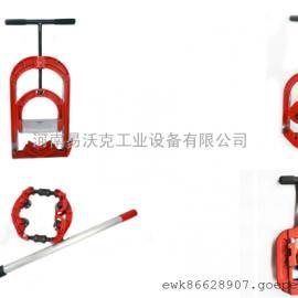易沃克管子割刀 天然气/石油/化工管道专用手动切割器,防爆防燃