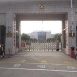 延长泰安双兴学校自动伸缩门的寿命