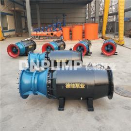 德能潜水泵800QZB雪橇式轴流泵