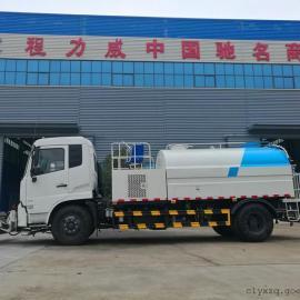 东风天锦8吨路面高压清洗车