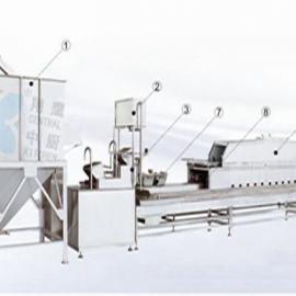 300全自动米饭生产线、炊具、厨房设备、大米加工设备